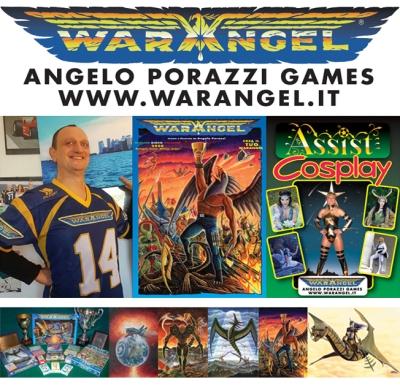 Angelo Porazzi Warangel Area Autoproduzione